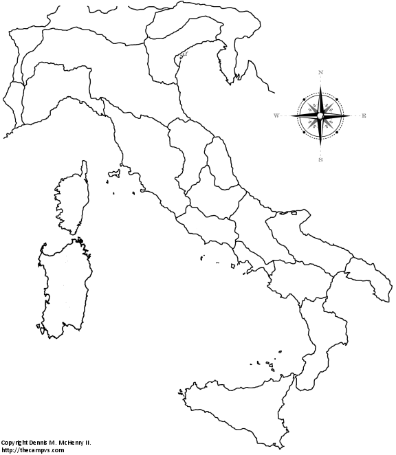The Regions of Ancient Italy the CAMPVS