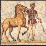 A charioteer of FACTIO RUSSATA.
